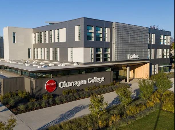 Okanagan College奧克拿根學院的熱門專業