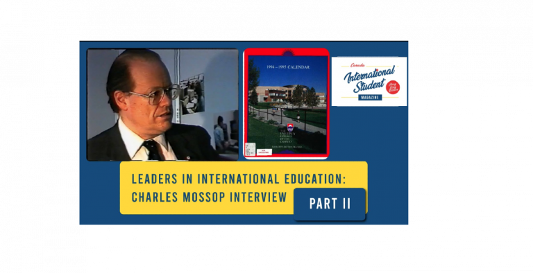 Charles Mossop 的訪問 – part 2
