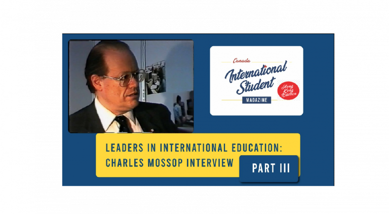 Charles Mossop 的訪問 – part 3