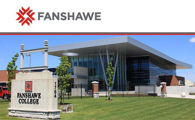 充滿活力的加拿大範莎學院 Fanshawe College